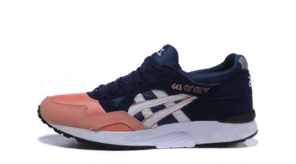 Asics Gel LYTE 5 Salmon Toe peach blue
