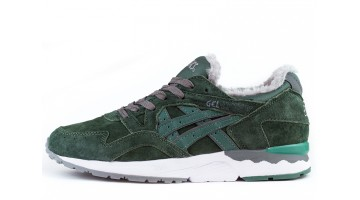 Кроссовки Мужские Asics Gel LYTE 5 Winter Dark Green Outdoor