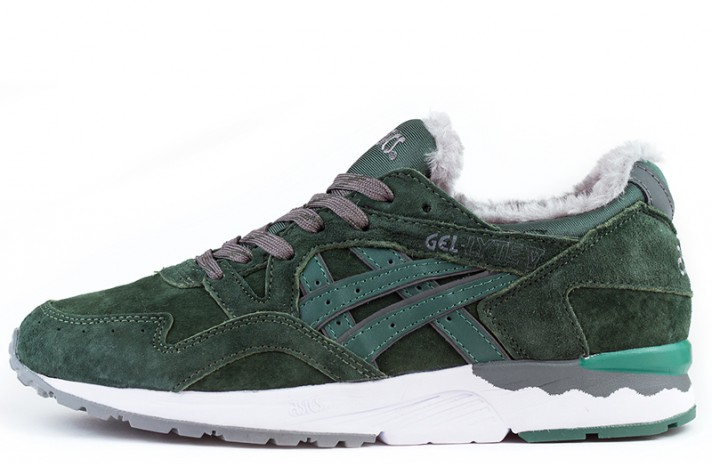 Кроссовки Asics Gel LYTE 5 Winter Dark Green Outdoor