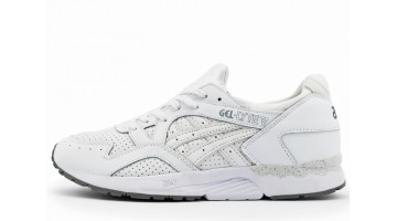 Кроссовки Мужские Asics Gel Lyte 5 White perforation Leather