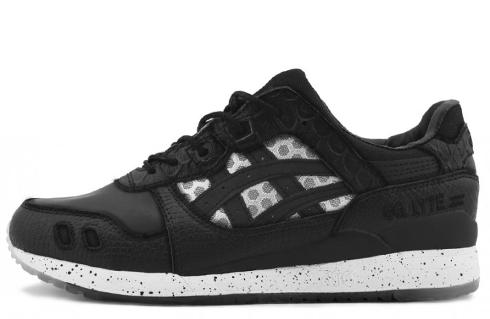 Asics Gel Lyte 3 Bait Black Gray черные