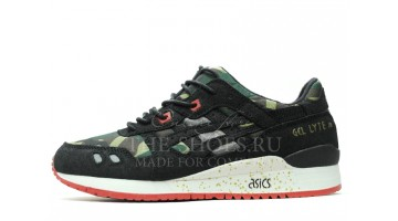 Кроссовки женские Asics Gel Lyte 3 Camo Green Black White