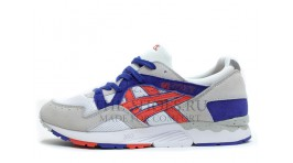 Asics GEL LYTE 5 White Fiery Red белые