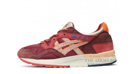 Asics GEL LYTE 5 Volcano Red White Beige