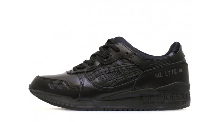 Gel Lyte 3 КРОССОВКИ МУЖСКИЕ<br/> ASICS GEL LYTE 3 BLACK CLASSIC LEATHER