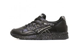 Asics Gel Lyte 5 Black perforation Leather черные кожаные