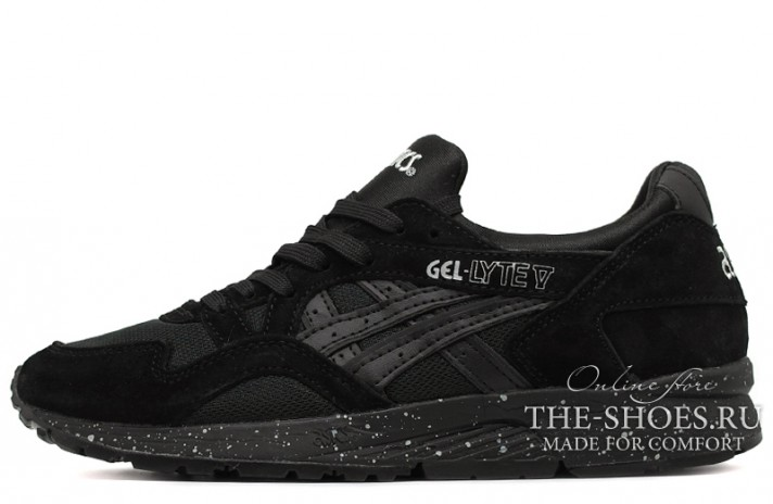Asics Gel LYTE 5 Night Shade Black Speckle черные