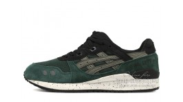 Asics Gel Lyte 3 After Hours Green Black зеленые