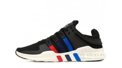 Equipment КРОССОВКИ ЖЕНСКИЕ<br/> ADIDAS EQUIPMENT SUPPORT ADV BLACK COLOR