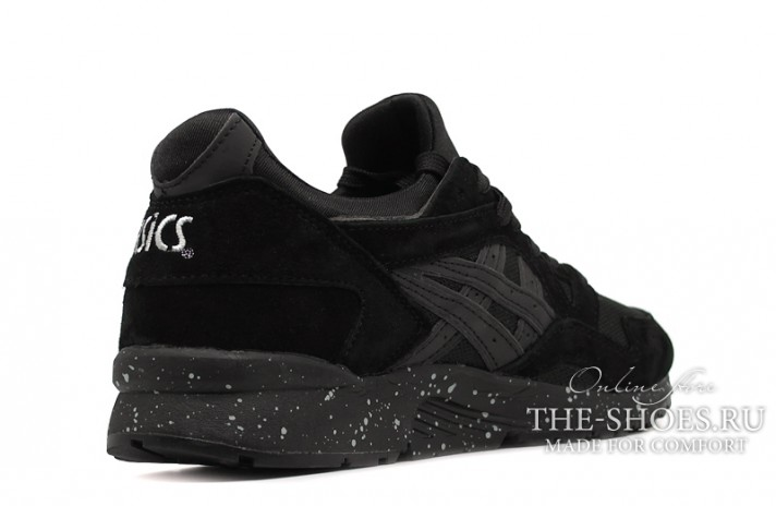 Asics Gel LYTE 5 Night Shade Black Speckle черные, фото 3