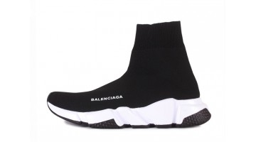 Кроссовки женские Balenciaga Speed Trainer Black White