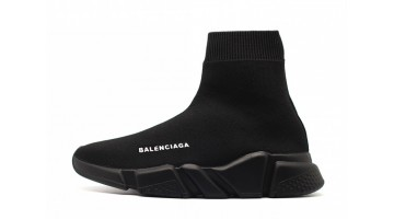 Кроссовки женские Balenciaga Speed Trainer All Black