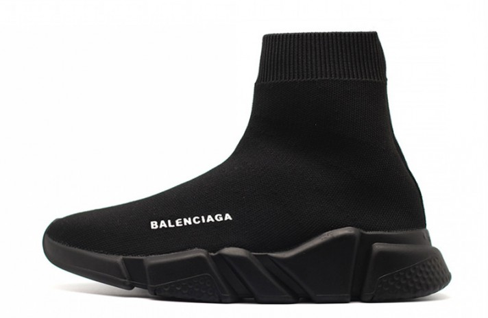 Balenciaga Speed Trainer All Black черные