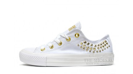 Converse КЕДЫ ЖЕНСКИЕ<br/> CONVERSE ALL STAR LOW WHITE GOLD PART