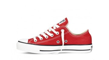 Кеды женские Converse All Star Low Red White