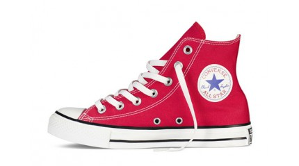 Converse КЕДЫ ЖЕНСКИЕ<br/> CONVERSE ALL STAR HI RED WHITE