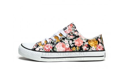 Converse КЕДЫ ЖЕНСКИЕ<br/> CONVERSE ALL STAR LOW PRINT FLOWER