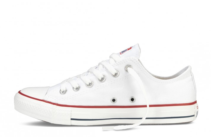 Converse All Star Low CHUCK TAYLOR Pure White белые