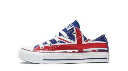 Converse КЕДЫ ЖЕНСКИЕ<br/> CONVERSE ALL STAR LOW BRIT BLUE WHITE