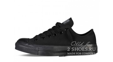 Кеды женские Converse All Star Low Black Band