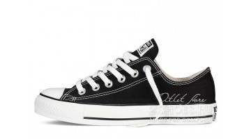 Кеды женские Converse All Star Low Black White