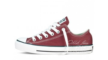 Кеды женские Converse All Star Low Burgundy