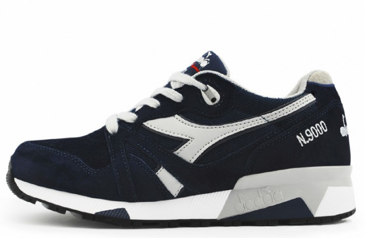 Diadora N9000 Blue Dark Gray темно-синие