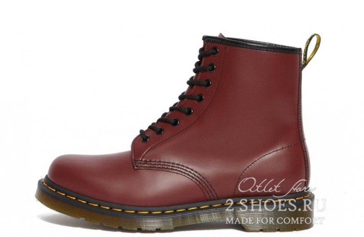 Ботинки DR Martens 1460 Cherry Red Smooth