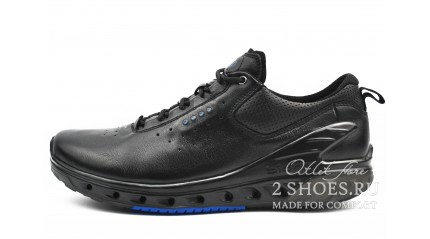 Ecco БОТИНКИ МУЖСКИЕ<br/> ECCO BIOM VENTURE BLACK BLUE LEATHER