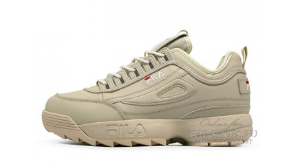 Fila Disruptor 2 Winter Begie зимние с мехом