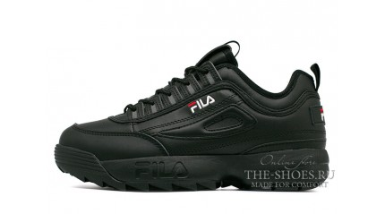 Fila Disruptor 2 Winter Black Full зимние с мехом
