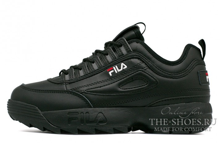 Кроссовки Fila Disruptor 2 Black Full