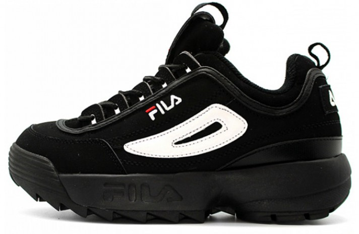 Кроссовки Fila Disruptor 2 Black Suede White