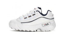 Fila Hometown Extra White Blue белые кожаные