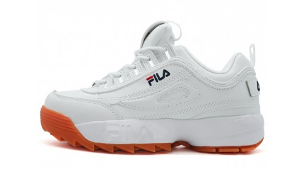 Fila Disruptor 2 White Brown