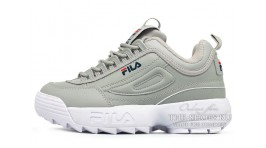 Fila Disruptor 2 Gray Light серые кожаные