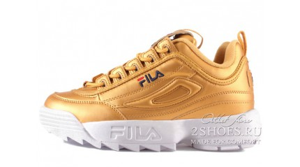 Fila Disruptor 2 Gold Metallic
