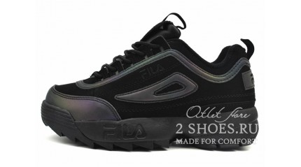 Fila Disruptor 2 Black Reflective