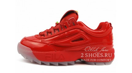 Fila Disruptor 2 Red Lacker