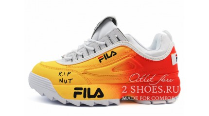 Fila Disruptor 2 Rip Nut Yellow Red