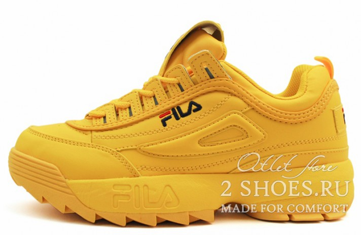 Кроссовки Fila Disruptor 2 Sun Yellow
