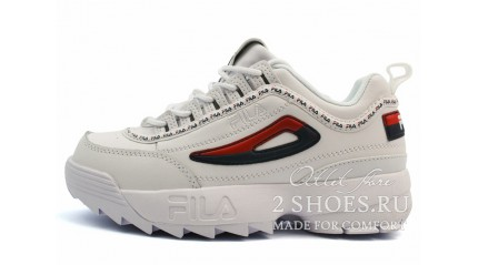 Fila Disruptor 2 White Blue Red