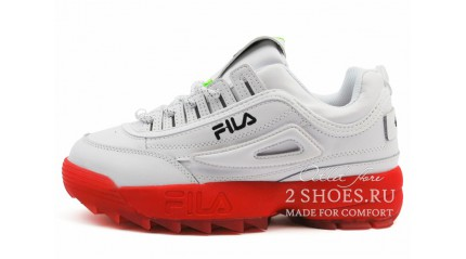Fila Disruptor 2 White Red