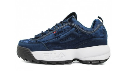 Fila Disruptor 2 Velvet Royal Blue