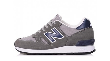 New Balance 670 Gray Navy