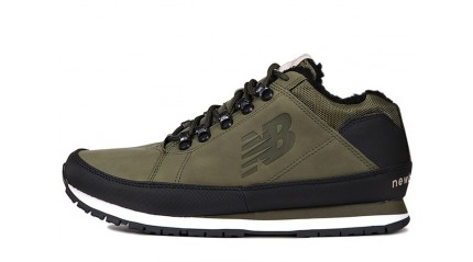 754 БОТИНКИ МУЖСКИЕ<br/> NEW BALANCE 754 WNR LEATHER KHAKI GREEN