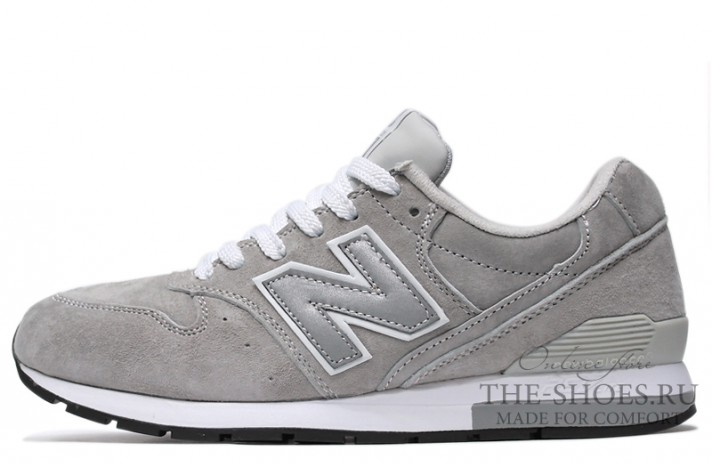 Кроссовки New Balance 996 Wolf Grey White