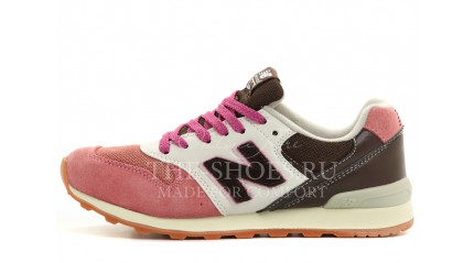 New Balance 996 Pink White Brown