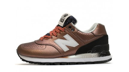 New Balance 574 gradient bronze