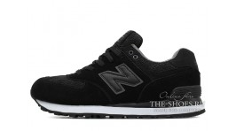 New Balance WL574NLA Black Full черные